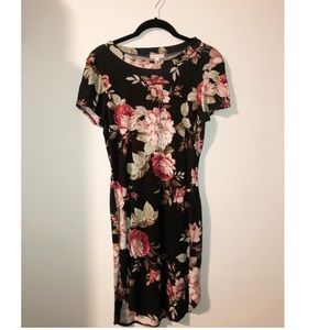 🌸🌹 FLORAL T-SHIRT DRESS SO SOFFT! 🌸🌹